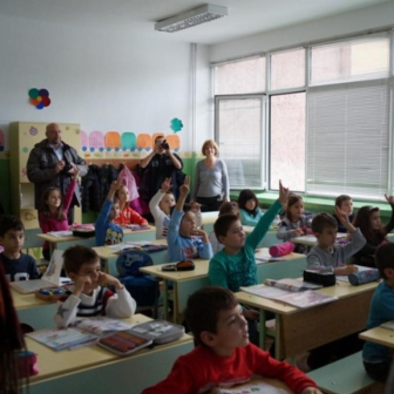 """снимка от галерия Проект """"Физически активни деца – здрави граждани"""""""