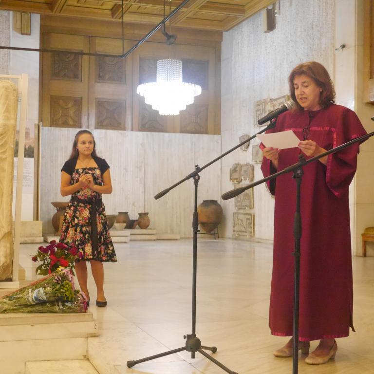 снимка от галерия Тържествено връчване на дипломите на зрелостници от Випуск 2018