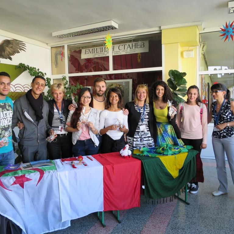 снимка за новина - Международно сътрудничество