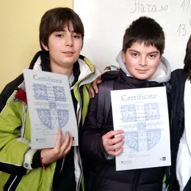 снимка за новина - Национално състезание по английски език
