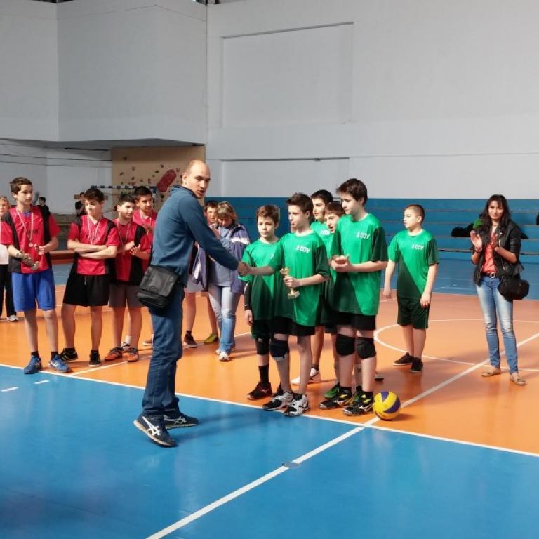 снимка за новина - Ученически игри 2014/2015 г.