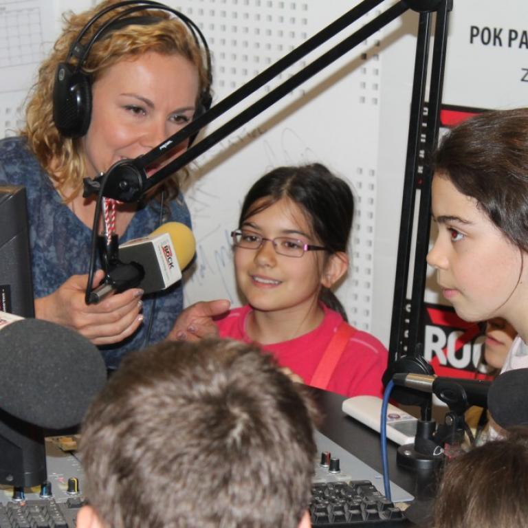 снимка за новина - На гости на радио Z-ROCK и NJOY