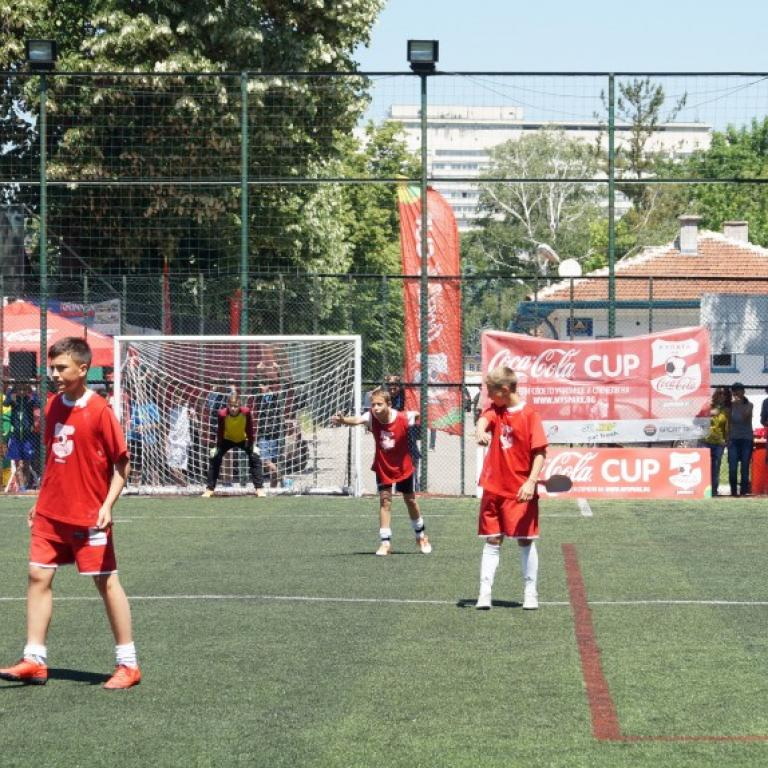 снимка за новина - Coca Cola Cup 2015 г.