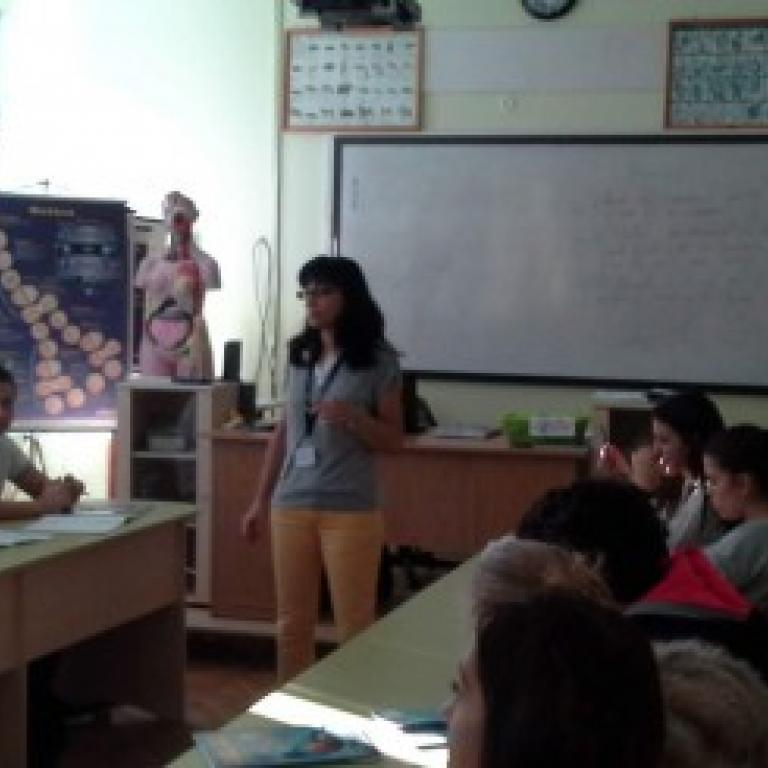 снимка за новина - Интерактивен урок по биология