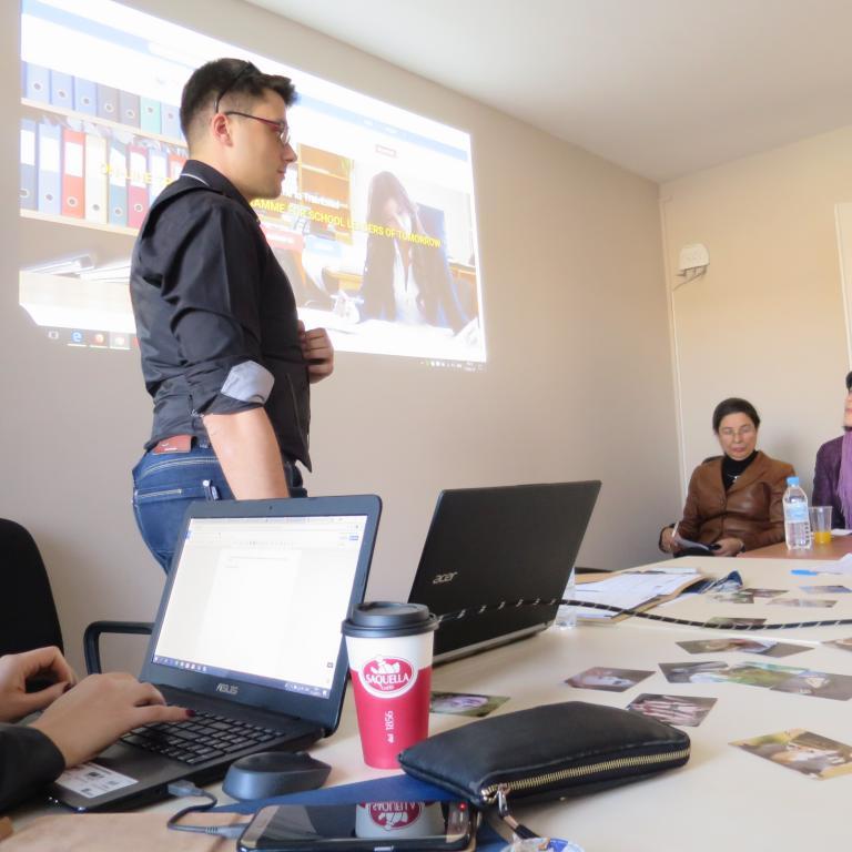 """снимка от проект 2016/2018 """"Еразъм +"""" Ключова дейност 2: """"Training Programme for Future School Leaders (TrainLead)"""""""