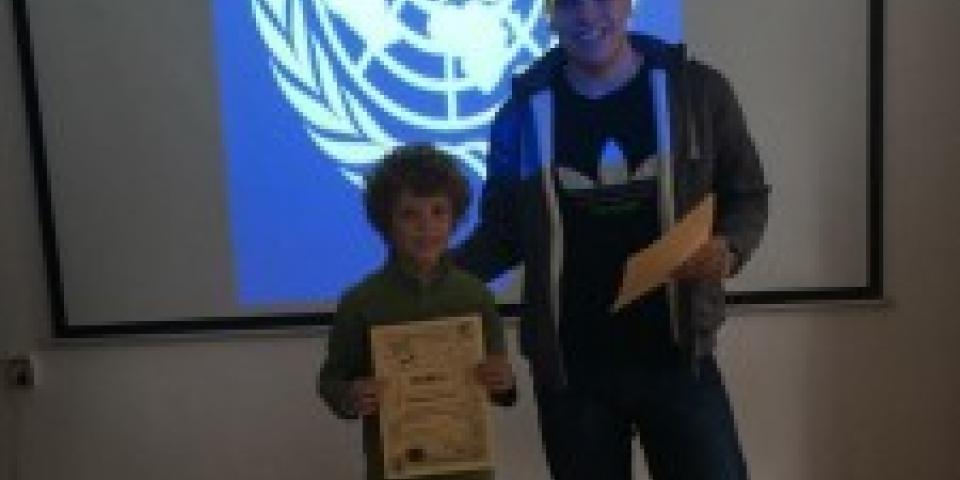 снимка за новина - Международен ден на ООН