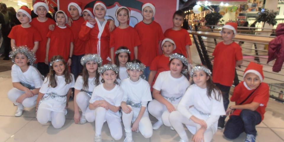 снимка за новина - Коледен концерт в МОЛ България