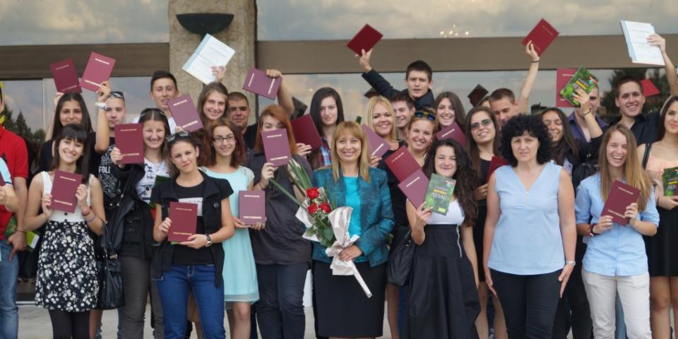 снимка за новина - Първи дипломи за нашите екскурзоводи