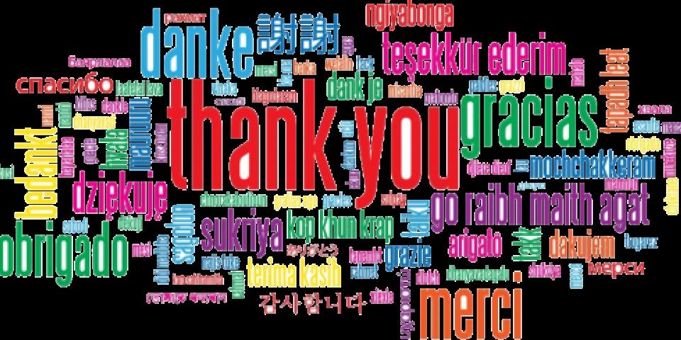 """снимка за новина - 11. януари – Международен ден на думата """"Благодаря"""""""