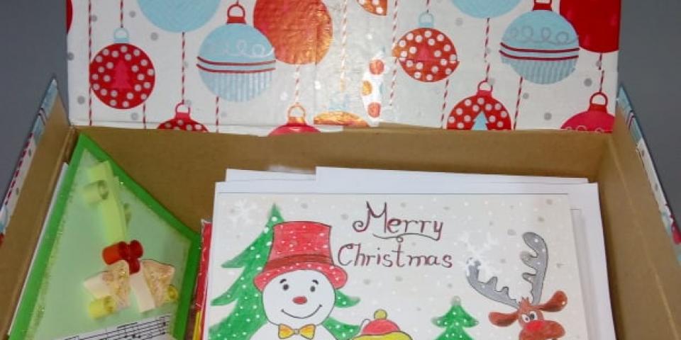 """снимка за новина - Коледен поздрав за медиците в УМБАЛСМ """"Н.И.Пирогов"""" от сърце!"""