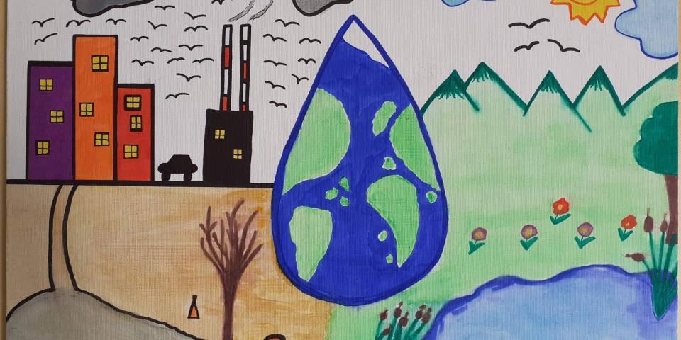 снимка за новина - Второ училище е първо  в столицата след оспорван конкурс за рисунки