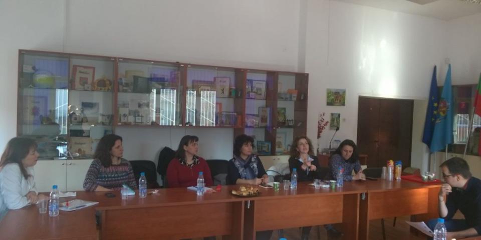 "снимка за новина - Фокус група ""Training Programme for Future School Leaders (TrainLead)"""