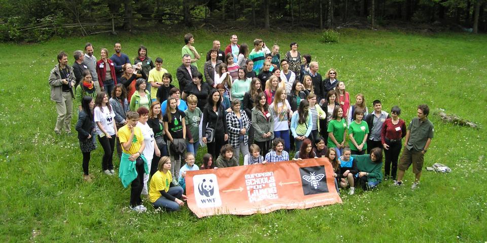 снимка от проект 2012/2013 Европейски училища за жива планета